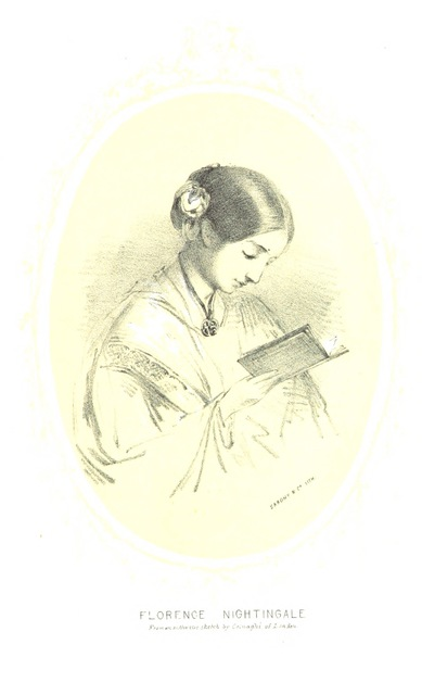 """Florence Nightingale from """"A visit to the Camp before Sebastopol"""""""