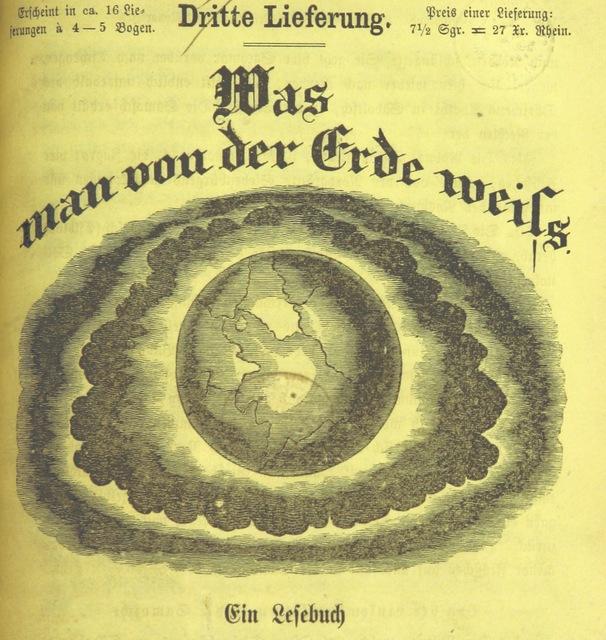 """cover from """"Was man von der Erde weiss. Ein Lehrbuch zur Selbstbelehrung für die Gebildeten aller Stände"""""""