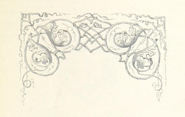 """decoration from """"XXVe Anniversaire de l'Inauguration du Roi. Les fêtes de Juillet, compte rendu des solennités ... célèbrées ... les 21, 22 et 23 Juillet 1856"""""""