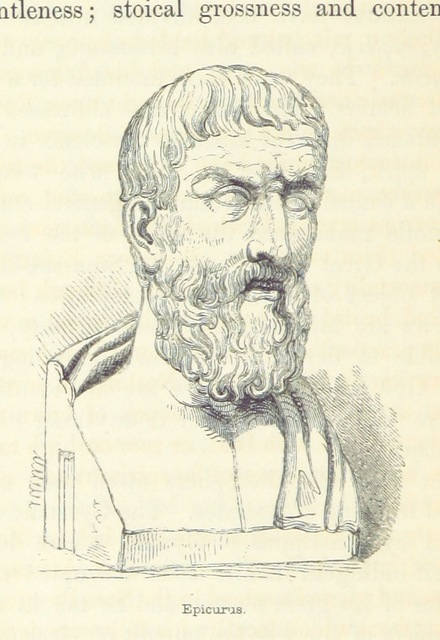 "Epicurus from ""A History of Greece, from the earliest times to the Roman conquest, etc. [With a map.]"""