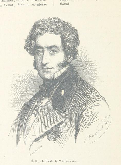"""portrait from """"XXVe Anniversaire de l'Inauguration du Roi. Les fêtes de Juillet, compte rendu des solennités ... célèbrées ... les 21, 22 et 23 Juillet 1856"""""""