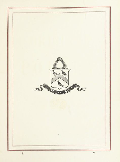 "coat of arms from ""Original Poetry"""