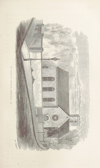 "Norfolk from ""Old Churches, Ministers and Families of Virginia"""