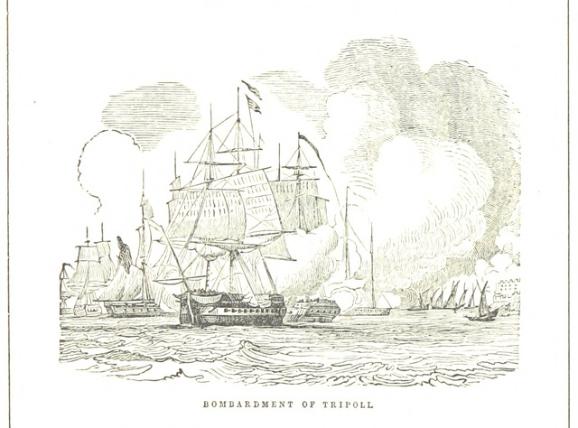 """ship from """"The Battle-Fields of the Republic, from Lexington to the City of Mexico, etc"""""""