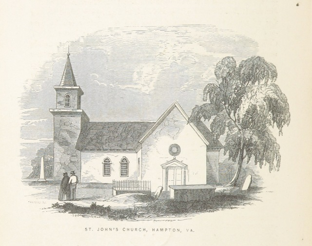 "St. John's Episcopal Church from ""Old Churches, Ministers and Families of Virginia"""