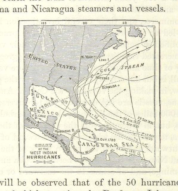 """map from """"The States of Central America; their geography, topography, climate ..., comprising chapters on Honduras, San Salvador, Nicaragua ... and the Honduras Inter-Oceanic Railway. With ... maps and illustrations"""""""