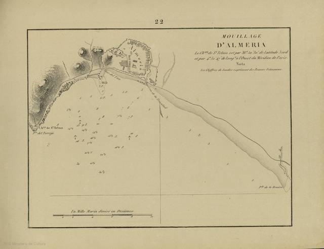 Muillage d'Almeria : [carte nautique]