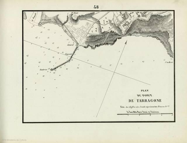 Plan du Port de Tarragone