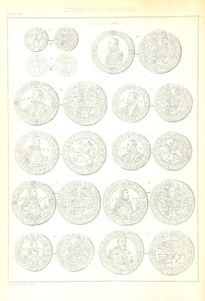 """circle from """"Histoire de la souveraineté de 's Heerenberg"""""""