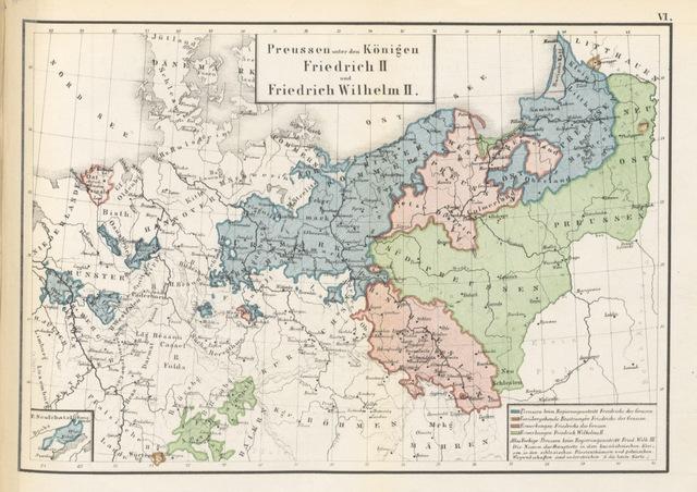 """map from """"Die Territorialgeschichte des brandenburgisch preussischen Staates, im Auschluss an zehn historische Karten übersichtlich dargestellt"""""""