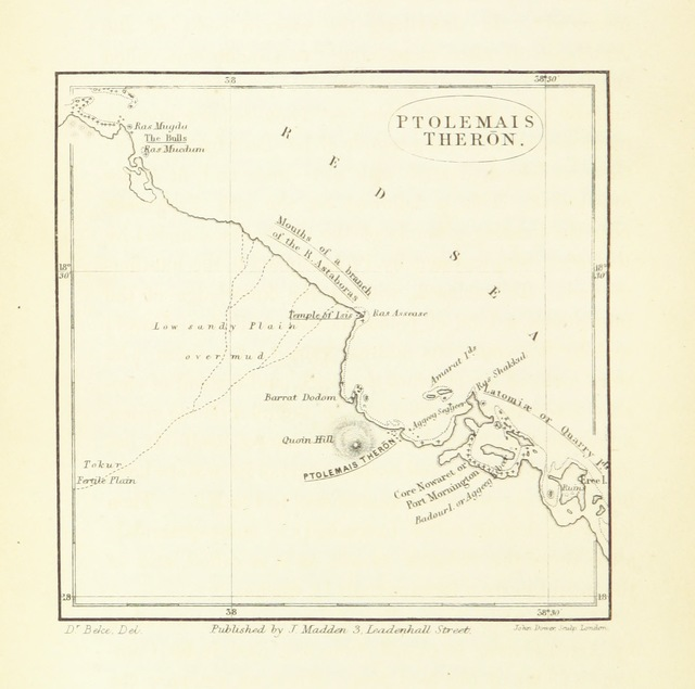 """map from """"The Sources of the Nile: being a general survey of the basin of that river, and of its head-streams; with the history of Nilotic discovery. [With plates, including maps.]"""""""