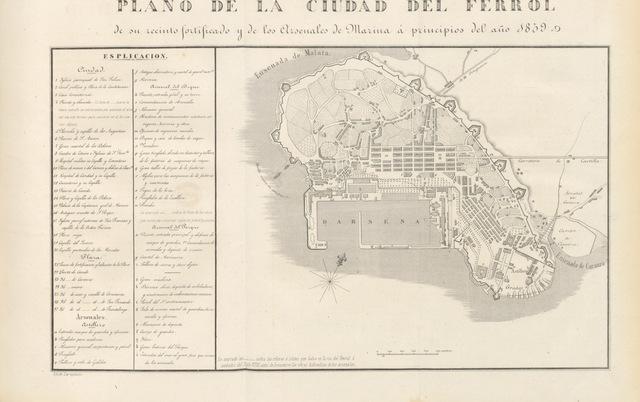 """map from """"Viaje de SS. MM. y AA. por Castilla, Leon, Asturias y Galicia, verificado en el verano de 1858"""""""