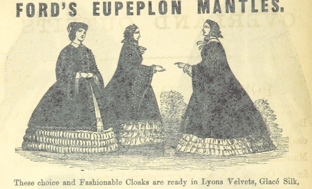 "Fashion from ""The Popular Overland Guide. Hints to travellers by the Overland route to India, Australia, and China, viâ Marseilles and Southampton, etc"""