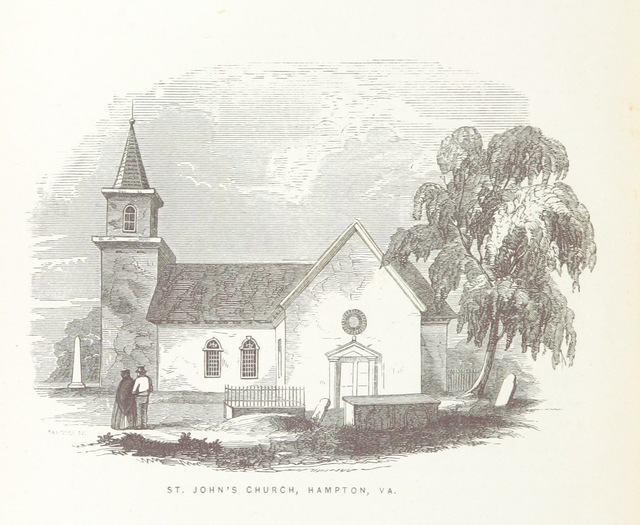 """Hampton, VA from """"[Old Churches, Ministers and Families of Virginia.]"""""""