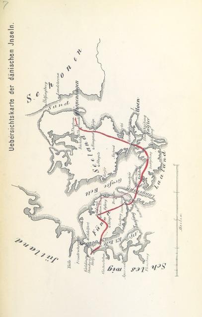 """map from """"Carl x. Gustav's von Schweden Kriegszug über das Eis gegen Kopenhagen im Jahre 1658 mit einem Rückblick auf die damalige Kriegs-Verfassung Schwedens. Eine Episode aus der früheren Kriegs-Geschichte, etc"""""""