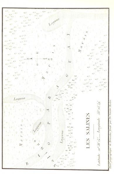 """map from """"La République du Paraguay"""""""