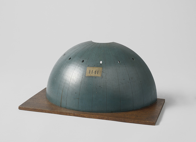Model of a section of an armoured turret