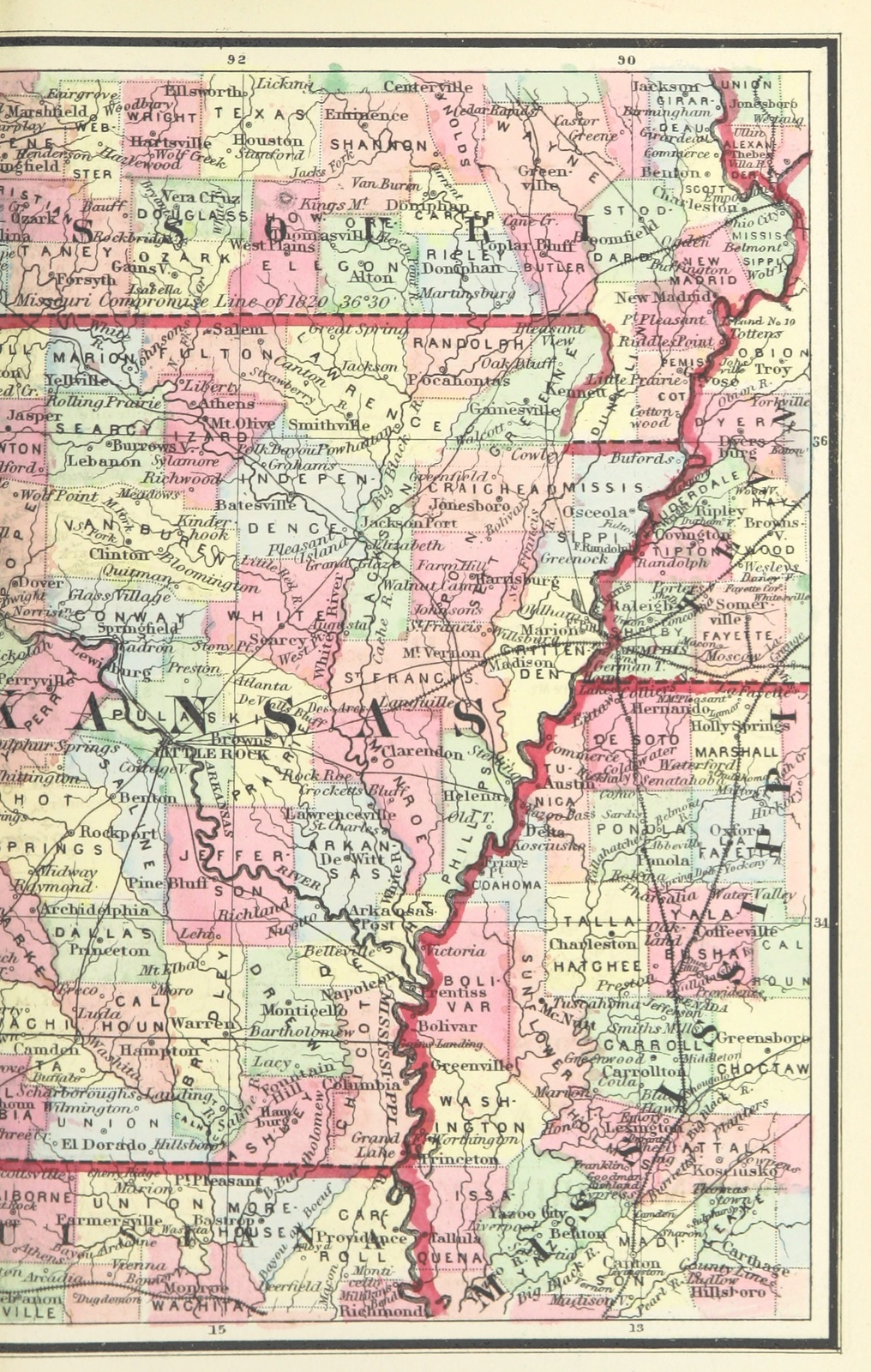 Map Of America History.Map From A Chronological History Of The Civil War In America