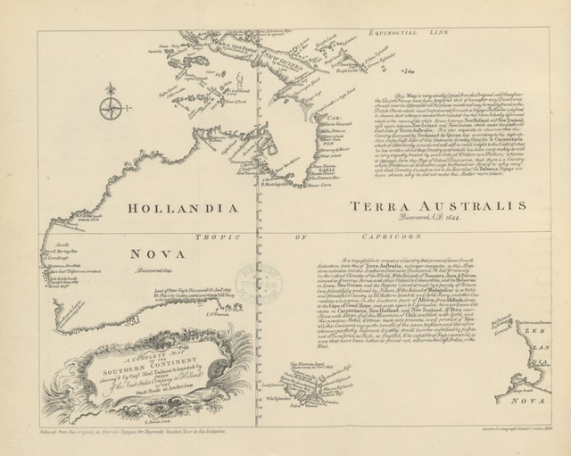 "map from ""A Vacation Tour at the Antipodes, through Victoria, Tasmania, New South Wales, ... in 1861, 1862. [With maps, etc.]"""