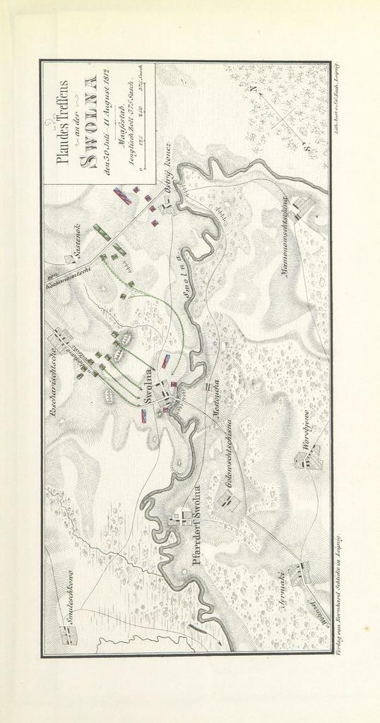 """map from """"Geschichte des Feldzuges im Jahre 1812, nach den zuverlässigsten Quellen ... bearbeitet von M. Bogdanowitsch ... Aus dem Russischen von G. Baumgarten. [With maps and plans.]"""""""