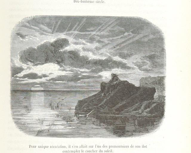 """nature from """"Les Vrais Robinsons. Nautrages, solitude, voyages ... Dessins de Yan' Dargent"""""""