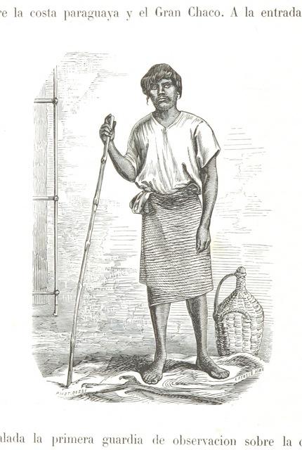 """portrait from """"Viage pintoresco por los rios Paraná, Paraguay, Sⁿ Lorenzo, Cuyabá y el Arino tributario del grande Amazonas. Con la descripcion de la provincia de Mato Grosso, etc"""""""