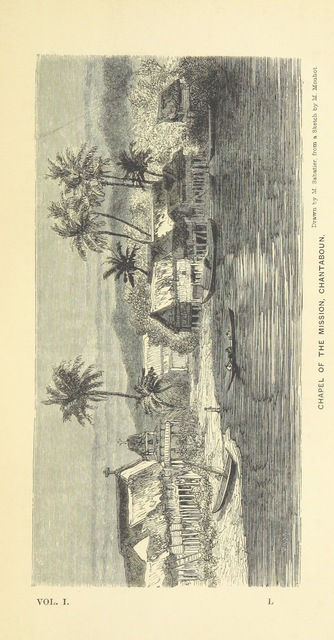 "Chantaboun from ""Travels in the central parts of Indo-China, Cambodia, and Laos, during the years 1858, 1859, and 1860. (Memoir of H. Mouhot [by J. J. Belinfante. Edited by C. Mouhot].) With illustrations"""