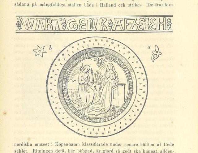 """circle from """"Elfsyssel, Södra Bohus-Län. Historiska minnen, samlade ur så väl äldre som nyare verk och urkunder. Med afbildningar, etc"""""""