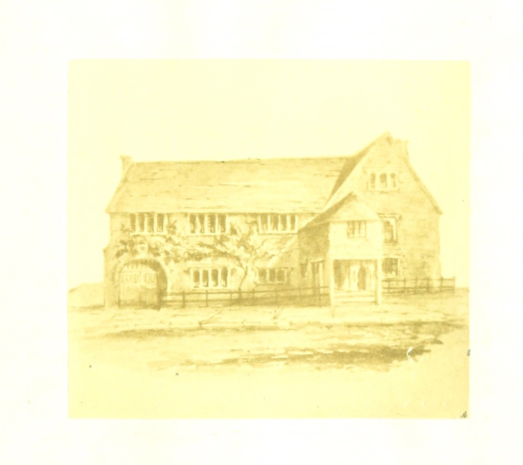"""house from """"Kingsbridge Estuary; with rambles in the neighbourhood. Compiled by S. P. F. [With photographic illustrations.]"""""""