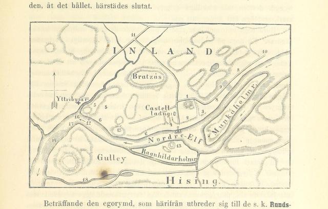 """map from """"Elfsyssel, Södra Bohus-Län. Historiska minnen, samlade ur så väl äldre som nyare verk och urkunder. Med afbildningar, etc"""""""