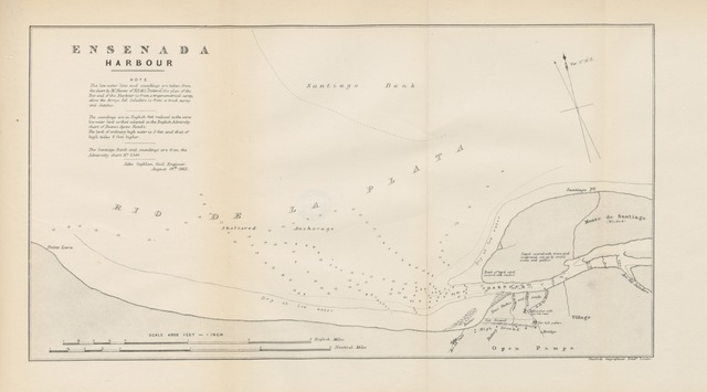 """map from """"Buenos Ayres and Argentine Gleanings: with extracts from a diary of Salado exploration in 1862 and 1863"""""""