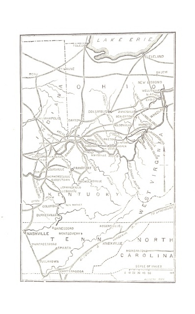 """map from """"The History of the Civil War in the United States ... containing ... biographical sketches of its heroes ... Revised and completed by ... L. P. Brockett. Illustrated, etc"""""""