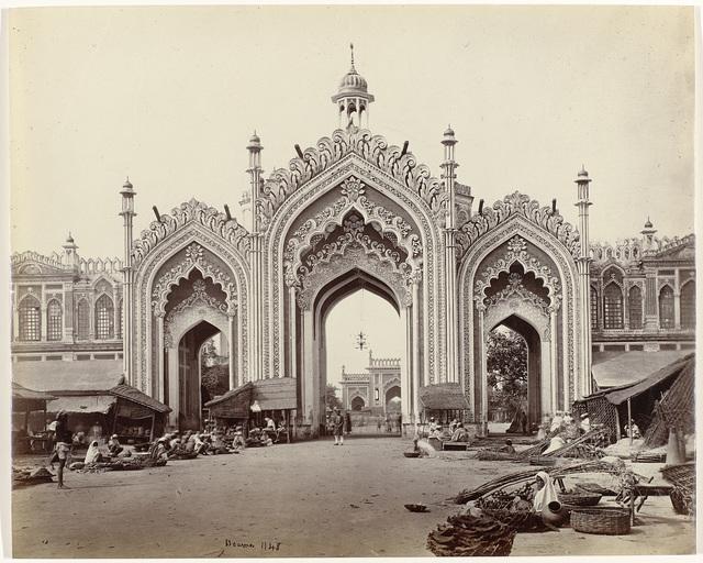 Poort voor de Lucknow bazar