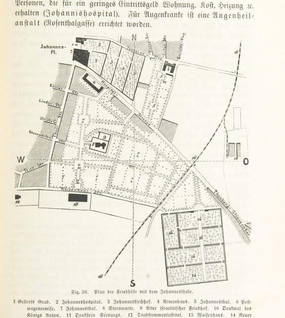 """map from """"Heimatskunde von Leipzig. Leitfaden für den Unterricht, etc"""""""