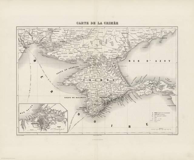Plan de Sébastopol : [carte]