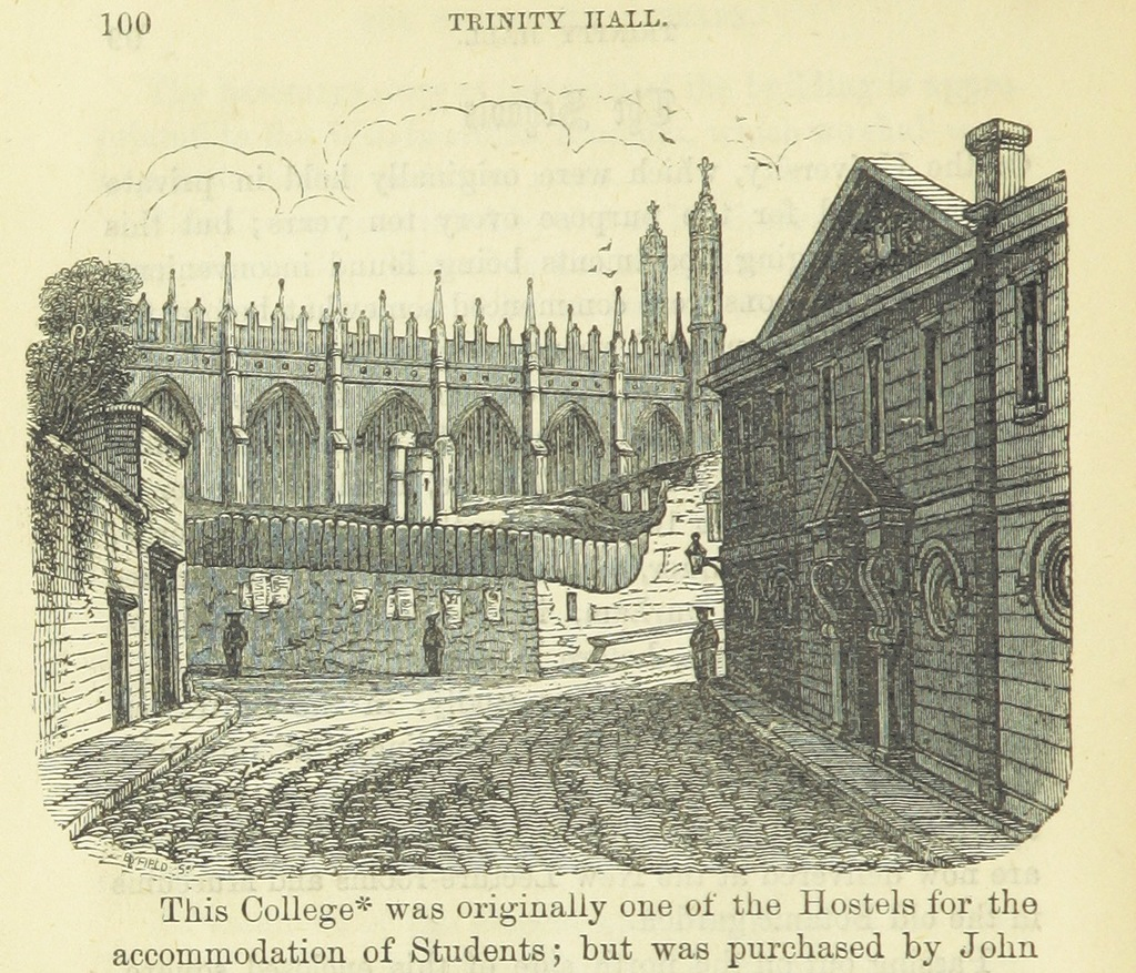 """Kings College Chapel from """"The New Cambridge Guide ... Second edition"""""""