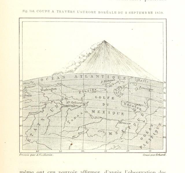 """map from """"La Terre: description des phénomènes de la vie du globe. I. Les Continents. II. L'Ocean, l'Atmosphere, la Vie"""""""