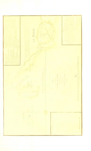 """map from """"Le Havre, son passé, son présent, son avenir. [With plates.]"""""""