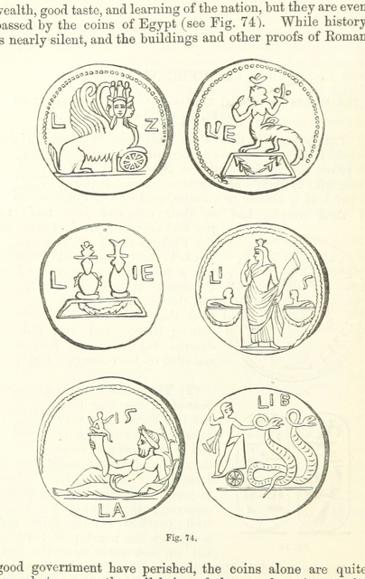 "circle from ""[The History of Egypt from the earliest times till the conquest by the Arabs A.D. 640. A new edition.]"""