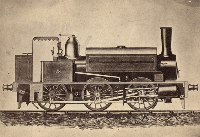 Locomotives from Graham Brothers. Business from the Stockholm branch office 1870-1880's.