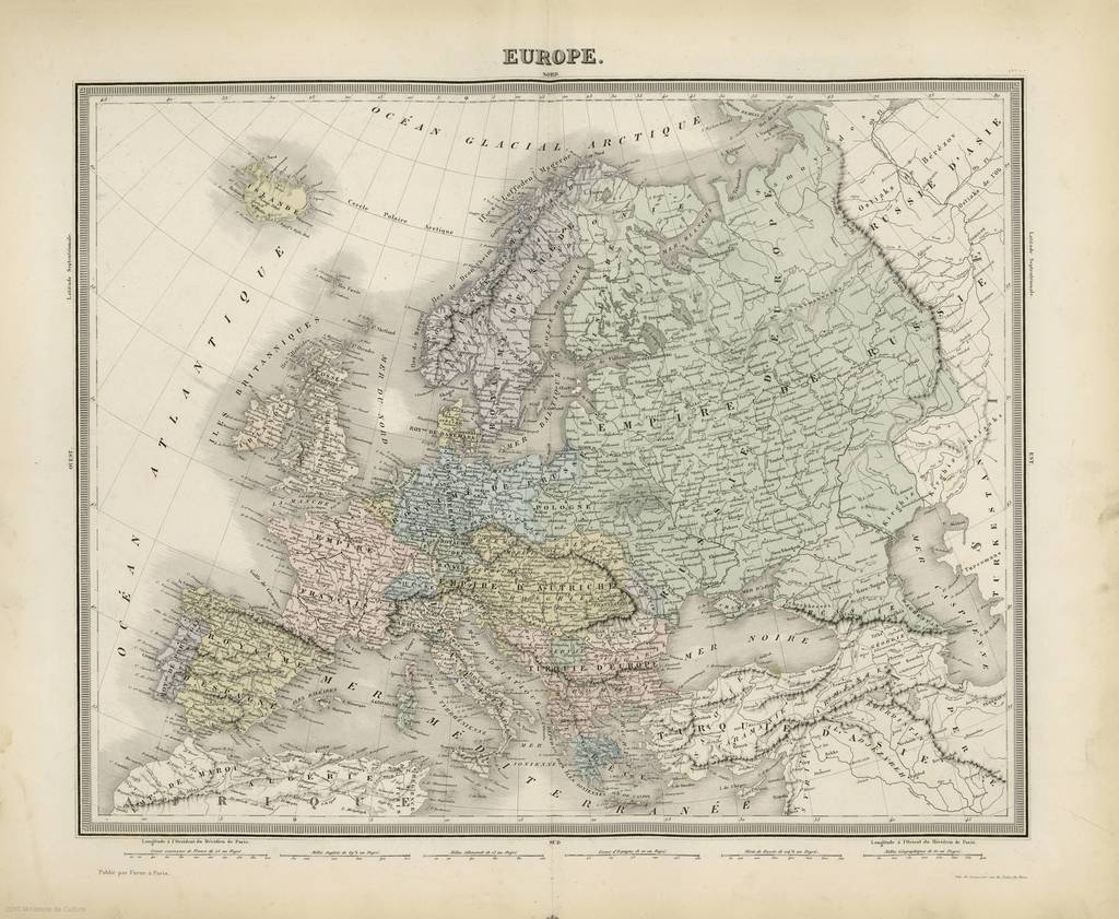 Europe : [mape phisique]