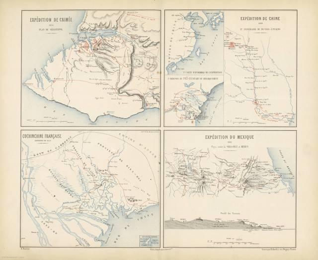 Expédition de Crimée 1854 Plan de Sébastopol : [carte de campagne]