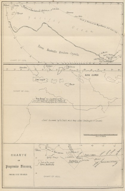 """map from """"Chapman's Centenary Memorial of Captain Cook's Description of New Zealand one hundred years ago. [Extracts from Cook's three voyages of circumnavigation, edited by George T. Chapman with the assistance of Albin Martin. With plates.]"""""""