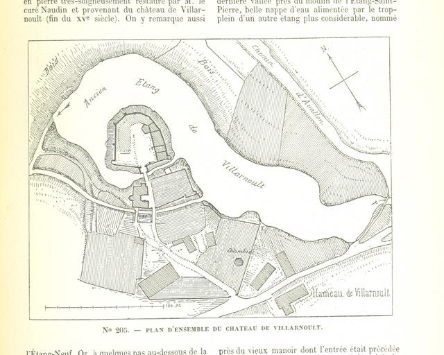 """map from """"Description des villes et campagnes du département de l'Yonne. Recueil de notices historiques, biographiques, géographiques, géologiques, agricoles ... IIe volume. Arrondissement d'Avallon"""""""