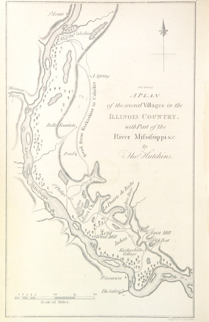"map from ""[History of the Conspiracy of Pontiac, and the war of the North American tribes against the English Colonies after the conquest of Canada. [With introductory chapters. 1608-1769.]]"""