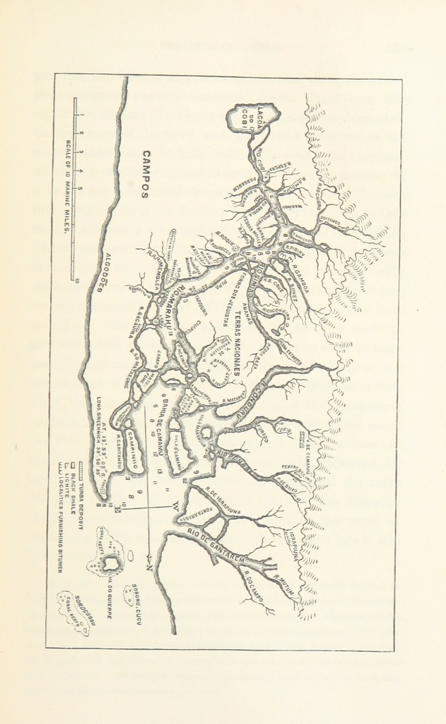 Image of: Map From Thayer Expedition Scientific Results Of A Journey In Brazil By L Agassiz And His Travelling Companions Geology And Physical Geography Of Brazil With Illustrations And Maps Picryl Public