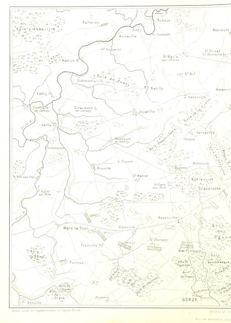 """map from """"The Franco-Prussian War; its causes, incidents, and cosequences. Edited by H. M. H. ... With the topography and history of the Rhine Valley, by W. H. D. Adams, etc"""""""