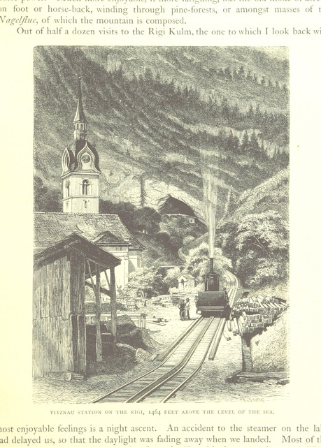 "Swiss Alps from ""[Swiss Pictures drawn with pen and pencil [by S. Manning]. The illustrations by E. Whymper, etc. [Published by the Religious Tract Society.]]"""