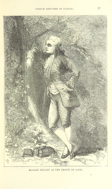 """trouser role from """"Beeton's Book of the War; being a narrative of the most striking military events and romantic incidents which occurred during the time from the declaration of war to the capitulation of Paris. [With illustrations.]"""""""