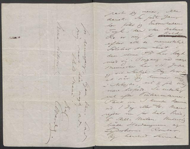 Brev fra Grieg til Beyer 1872-1882